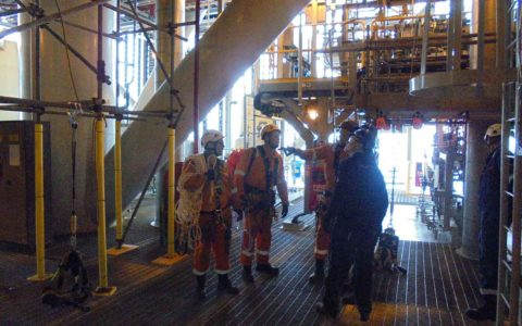 Rope-Access-Rescue-Drill